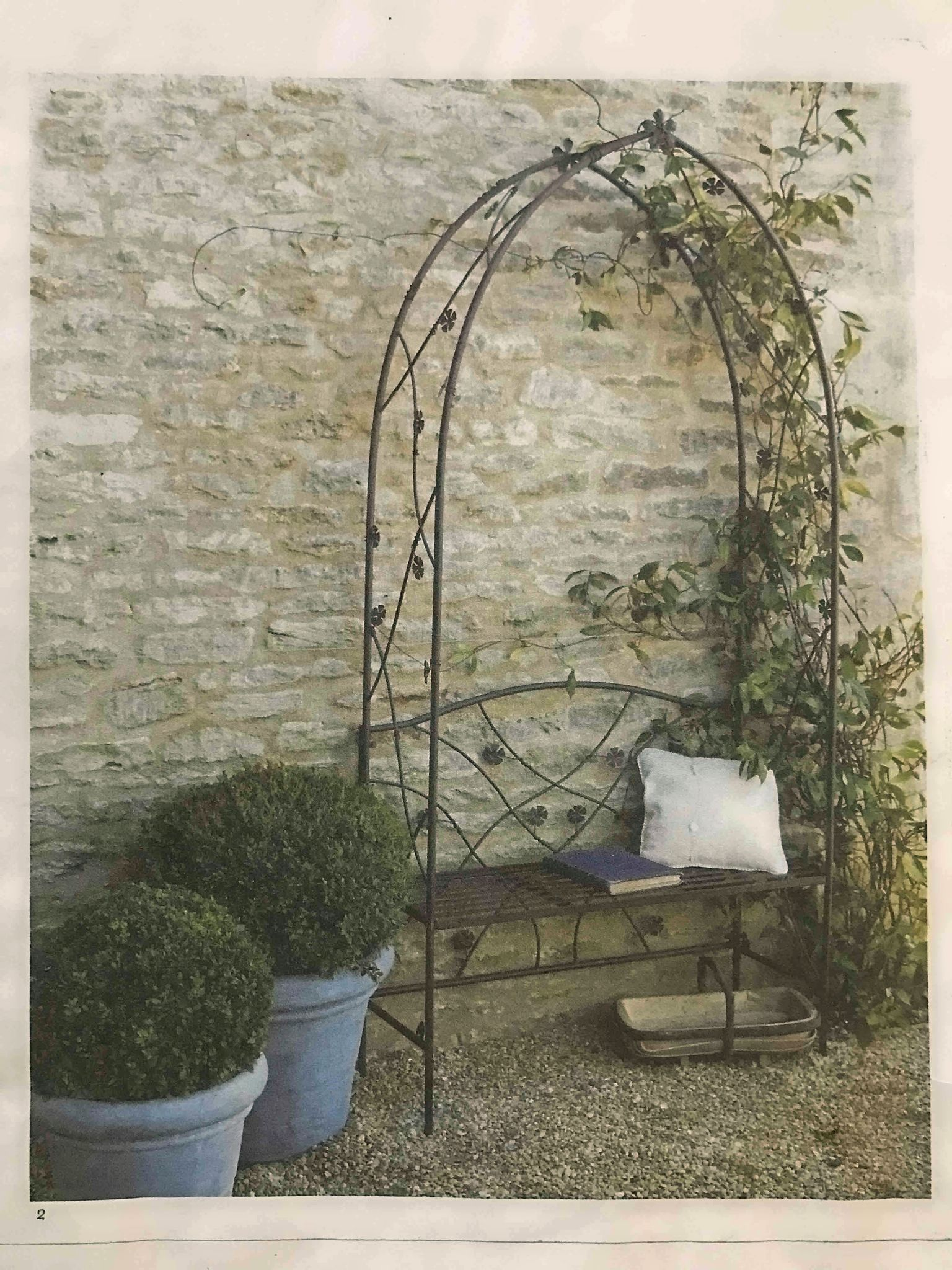 Flower Arch And Seat Wass 199 95